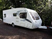 Sterling Europa 550 4 berth caravan 2011, Fixed Bed, MOTOR MOVER, BARGAIN !