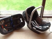 Emmaljunga car seat and isofix