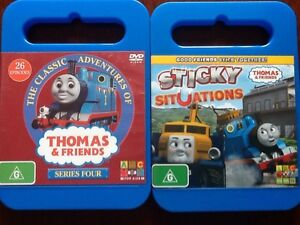 Thomas the Tank Engine DVD's, Series 4 & Sticky Situations. Tumut Tumut Area Preview