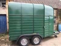 Dryden Horse Trailer for sale: Excellent condition - used only to store livery