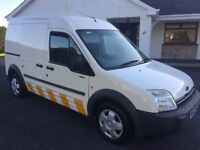 FORD TRANSIT CONNECT,2006,HIGHROOF,DOUBLE SIDE LOAD DOORS