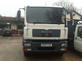 Man TGM 18.240 Flat Lorry 2007