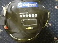 Brand new OUTWELL adult sleeping bag
