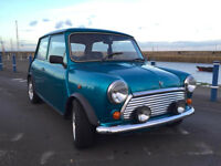 Classic Limited Edition Rover Mini Sidewalk (low millage)