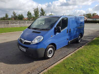 NO VAT 2007 57 VAUXHALL VIVARO 2.0 CDTI SWB, ONE OWNER FROM NEW, PX WELCOME