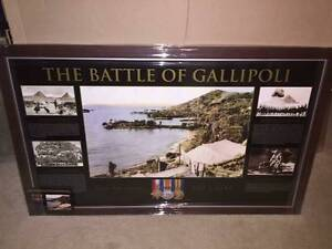 Anzac Framed Pictures Baldivis Rockingham Area Preview