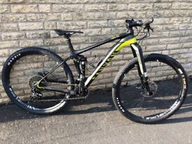 CANYON LUX CF 8.9 Pro Race 2017 - Mountain bike - Carbon - MTB