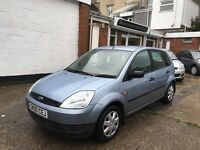 Ford Fiesta LX 1.25ltr 5 door model ,electric blue, lovely condition long mot and Just been serviced