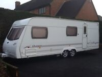 6 Berth Twin Axle Caravan with Motor Mover and Awning For Sale