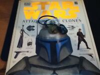Star wars book and dog tags