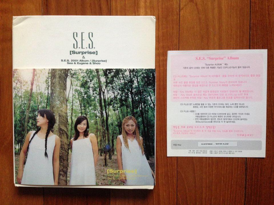 S.E.S. autographed Surprise PROMO CD signed Special Album