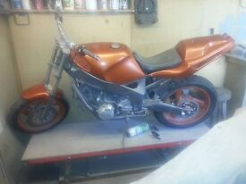 fzr600 3he street fighter project