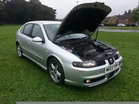 Bargain - 2003 Seat Leon Cupra Turbo - 1 of the cleanest unabused examples you will find -- £1200