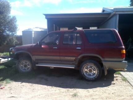 Toyota Surf Body 5 Speed Hilux Motor 2.8l 3l Recon Injector Pump Cummins Lower Eyre Peninsula Preview