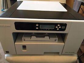Ricoh SG 2100N A4 Colour Geljet printer - barely used.