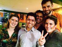 Award-winning Indian restaurant seeks part-time FOH wait staff