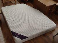 Memory foam mattress for fixed bed caravan