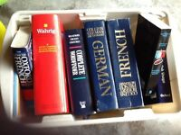 French / German dictionaries