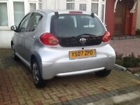 TOYOTA AYGO +2 KEY +SERVICE BOOK +FULLY HPI CLEAR REPORT + VERY GOOD CONDITION IN SIDE & OUTSIDE