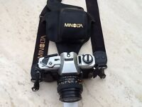 Minolta X-300 Camera / lens / Strap / Case Plus Instruction Book