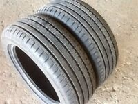 TYRES 225/40/18 LIKE NEW FULL TREAD 2 WEEKS OLD EXCELLENT CONDITION £30 each