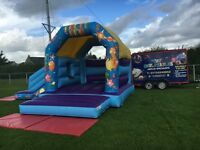 Party Themed Bouncy Castle