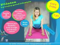 Pilates in New Eltham Library - Every Friday
