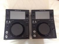 Pair of XDJ700's (boxed)