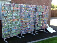 JOBLOT GARDEN SEEDS 3,700 PACKS + 3 DISPLAY STANDS VEGETABLES AND FLOWERS