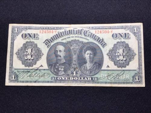 1911 Dominion Bank of Canada $1 Bank Note