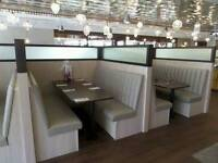 Restaurant upholstery hotel upholstery pubs reupholstery nightclub refurbs