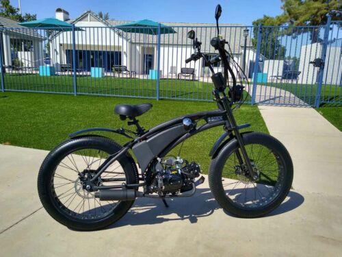 Sikk custom motorized fat tire beach cruiser