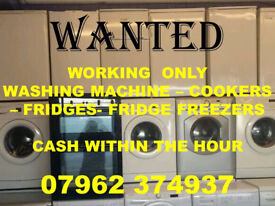 W.A.N.T.E.D.WASHERS WORKING ONLY CAN COLLECT WITHIN THE HOUR 995