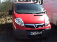 2008 Vauxhall Vivaro spares or repair