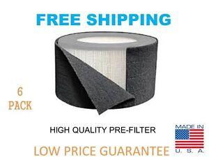 Universal Carbon HEPA Pre-Filter Honeywell 38002 Replacement 16x48