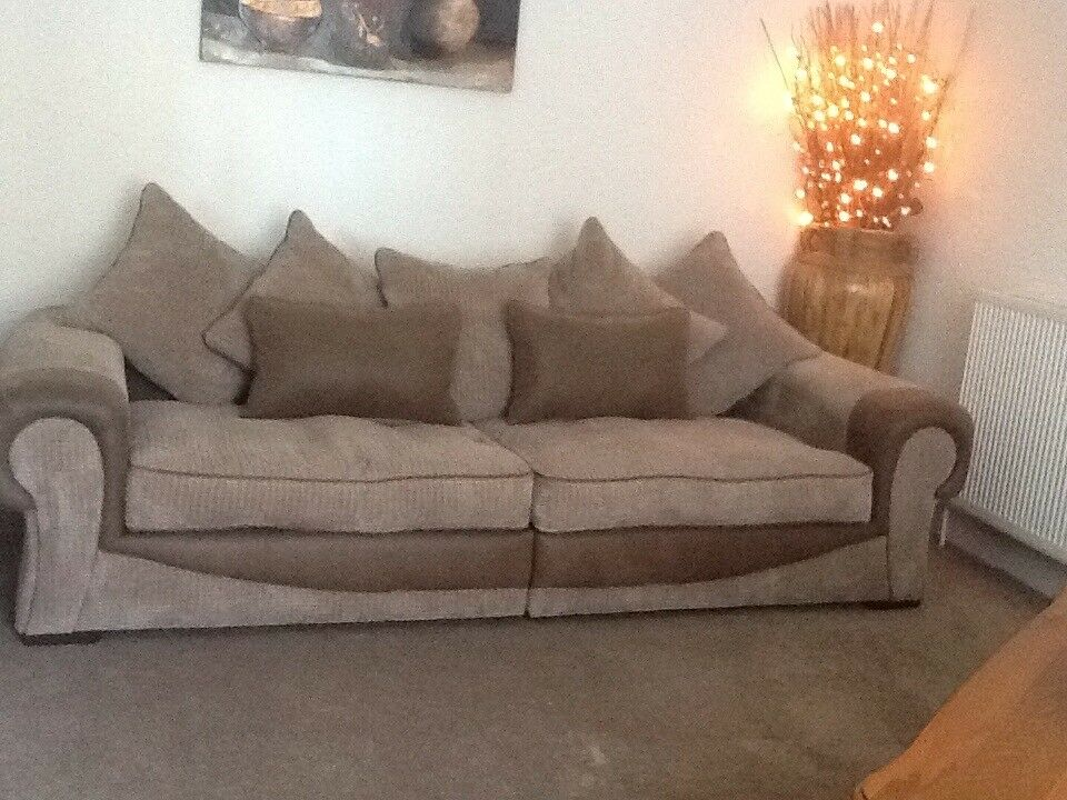 Sofology Molby Range 4 Seater Sofa And Snuggle Chair