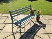 Refuished Garden Bench