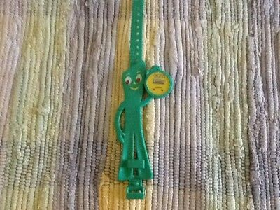 GUMBY-COLLECTABLE-WATCH GREEN-1985-Prema Never Worn
