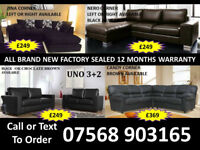 SOFA BEST OFFER BRAND NEW LEATHER SOFAS FAST DELIVERY 911