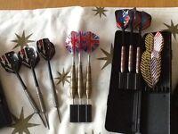 Five sets of Darts