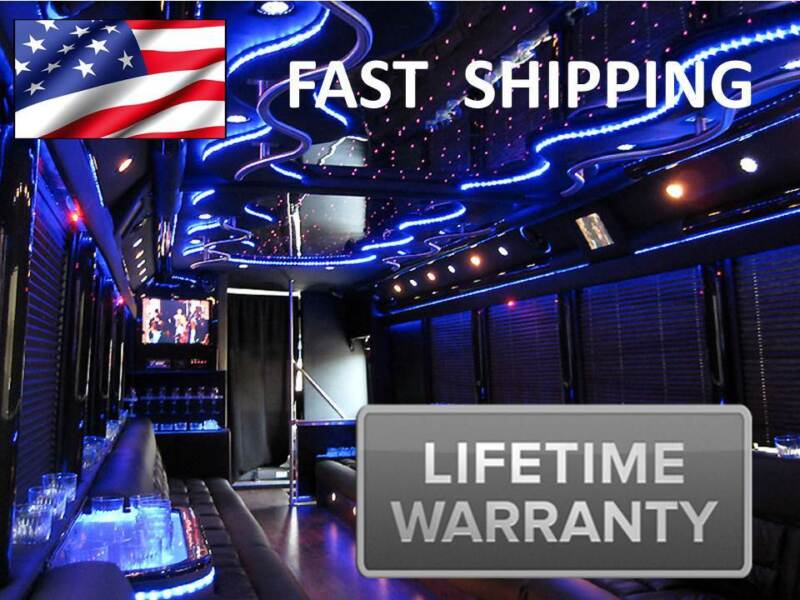 NEW Digital LED Replacement LIMOUSINE Limo BUS Lighting Interior UNIVERSAL