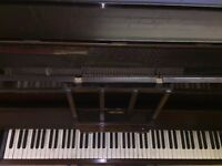Piano & Stool for sale - collection only