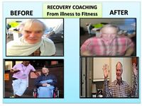Mature Male Self-Employed Recovery Coach Provides Basic Care as Extra Care In London