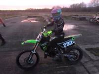 kx 85 big wheel 2011 mx off road bike