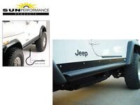 Jeep CJ7 YJ HD Rocker Guards