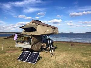 Ute Camping Setup Darche Rooftop Tent and ARB Awnings Rhino Rack Chuwar Brisbane North West Preview