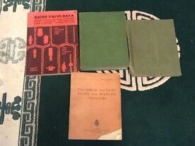 Vintage RADIO AND TV VALVES BOOKS ETC. Z