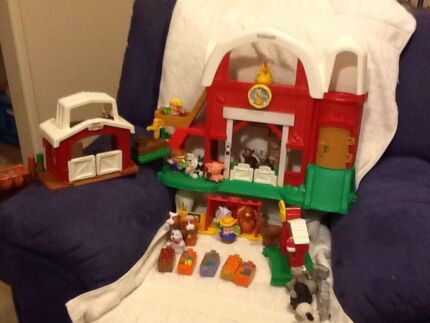 Fisher Price Little People Farm Set Rothwell Redcliffe Area Preview