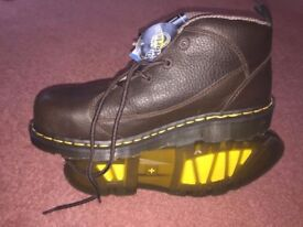 Dr Marten Boot - steel toe safety size 9