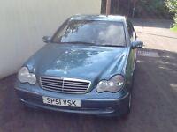Mercedes c class diesel 51 plate